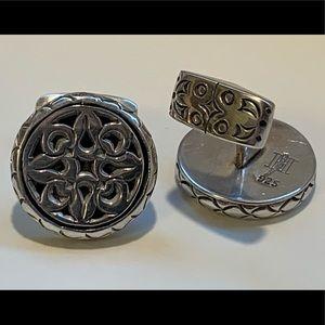 JOHN HARDY Vintage Sterling Silver Men's Cufflinks